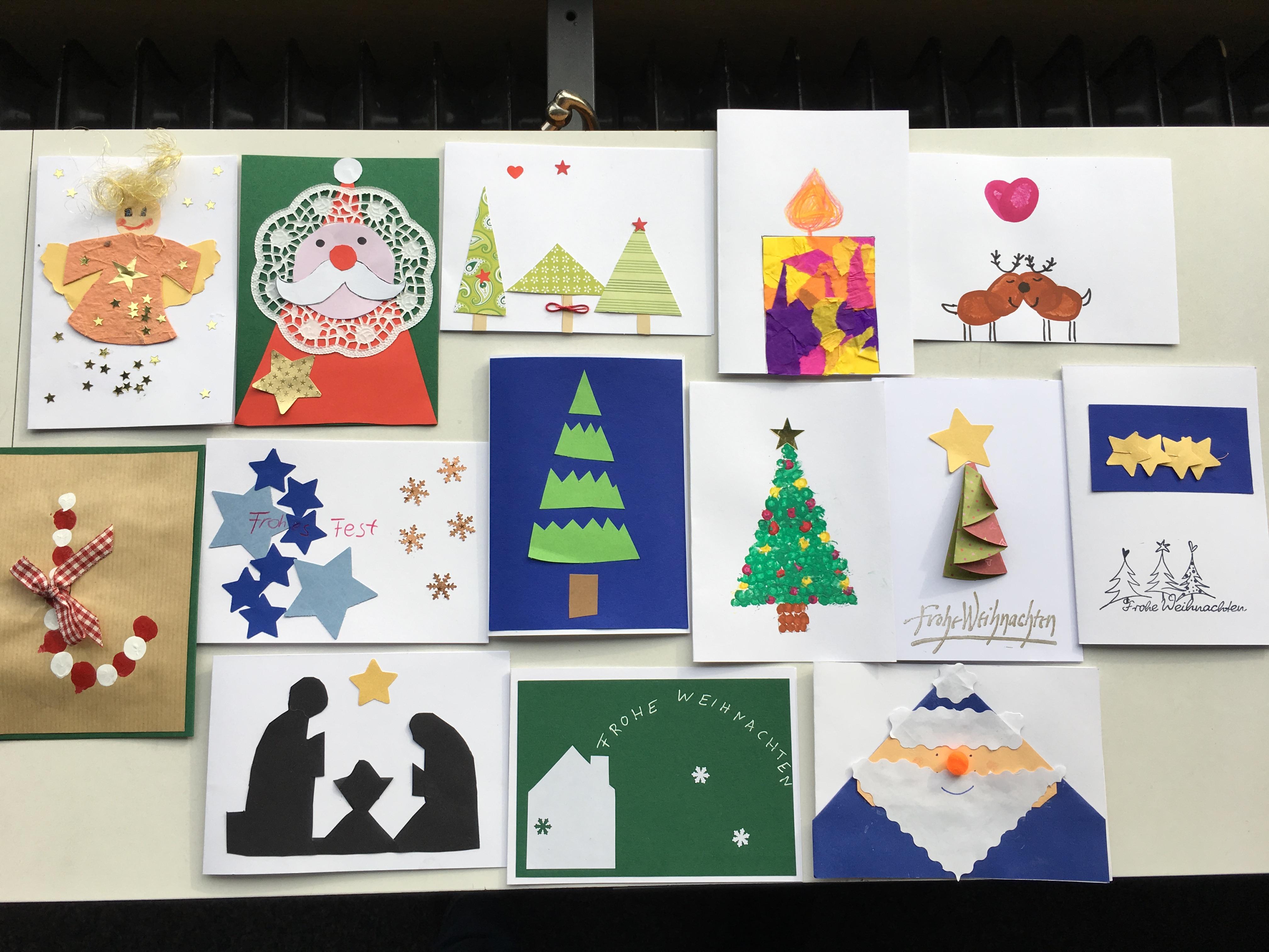 Weihnachtskarten Mit Gutem Zweck.Aktuelles Grundschule Sulzgries